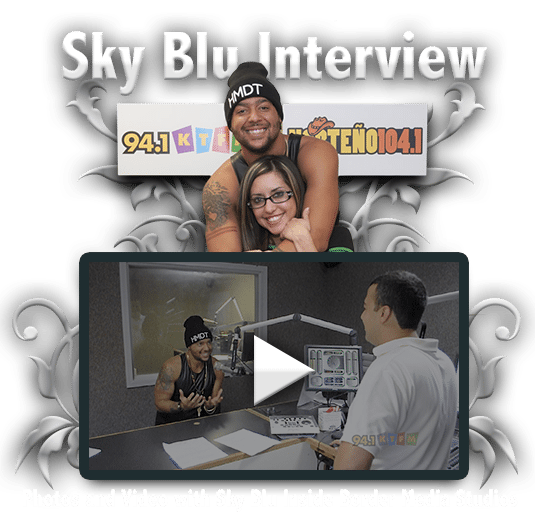Sky Blu Interview on 94.1 KTFM
