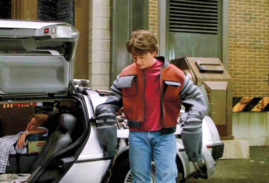 Marty McFly Used Wearables In Back To The Future